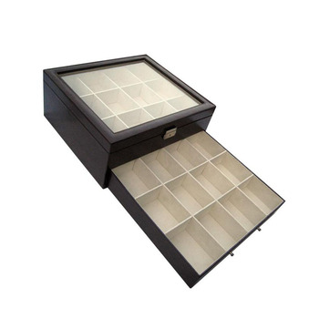 Genial Tie And Belt Storage Box YIXING3233