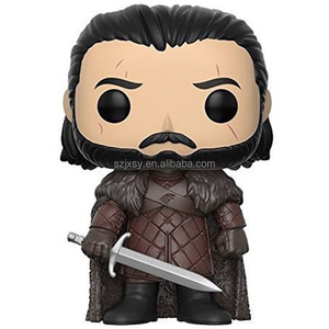 funko pop pvc/vinyl action figure mini set game of thrones figure jon snow Khaleesi the others Melisandre
