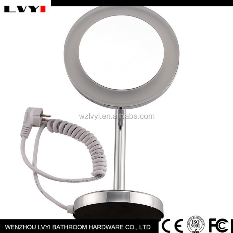 New and hot custom design popular portable led makeup mirror on sale