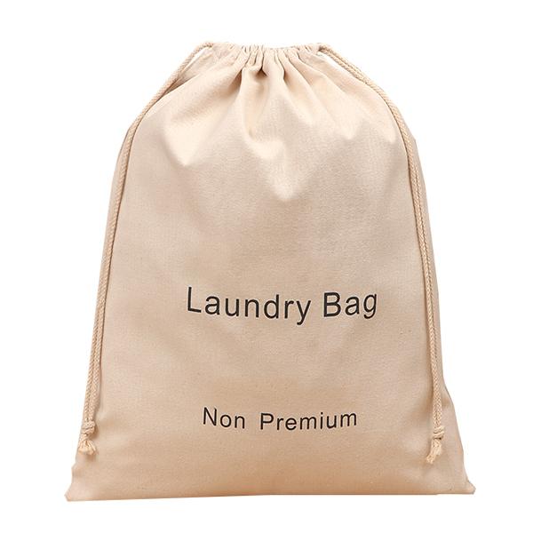 Wholesale eco-friendly heavy duty custom cotton canvas biodegradable laundry bag