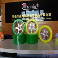 rubber wheels 8 inch