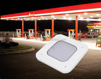 Ul Dlc Ip66 High Power 75w Recessed Gas Station Led Lights For ...