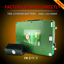 Ultra light recharging 18650 dry cell 12v 300ah lithium ion battery for solar system