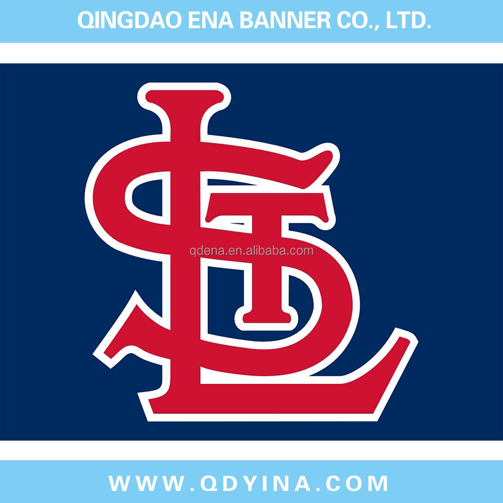 St Louis Cardinals Flag 3x5 FT 150X90CM Banner 100D Polyester flag 41183