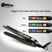 flat iron ceramic and custom flat irons with private label hair beauty salon tools