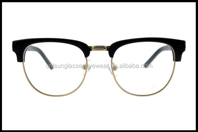 latest spects frames  New Combination Model 2015 Popular Designer Eyeglass Frames (oem ...