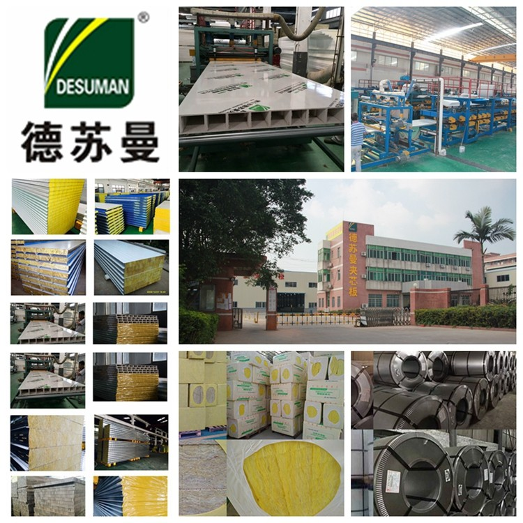 Cold Storagesctal  Cold Room Thermal Insuiation Glass Wool Sandwich Panel