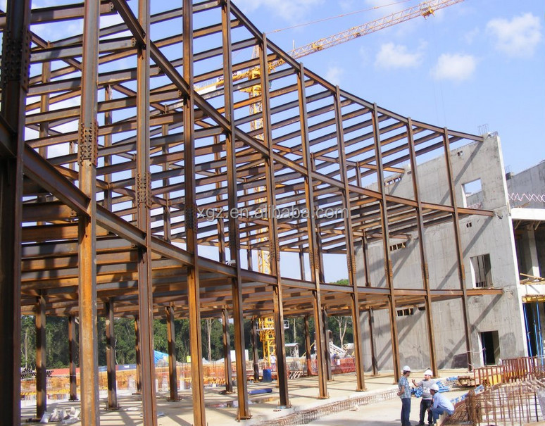 Steel structure commercial buildings