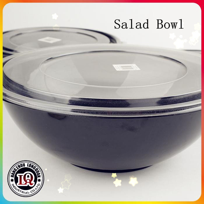 OEM Disposable Plastic Salad Bowl With Lid