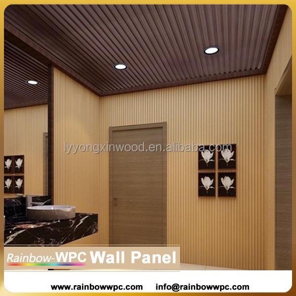 Porte int rieure en bois en plastique mur panneau pvc for Panneau stratifie salle de bain prix