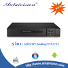 h 264 CCTV ahd dvr 4ch 5 in 1 720p 1080p 1080n hd dvr 1080n resolution in cctv dvr