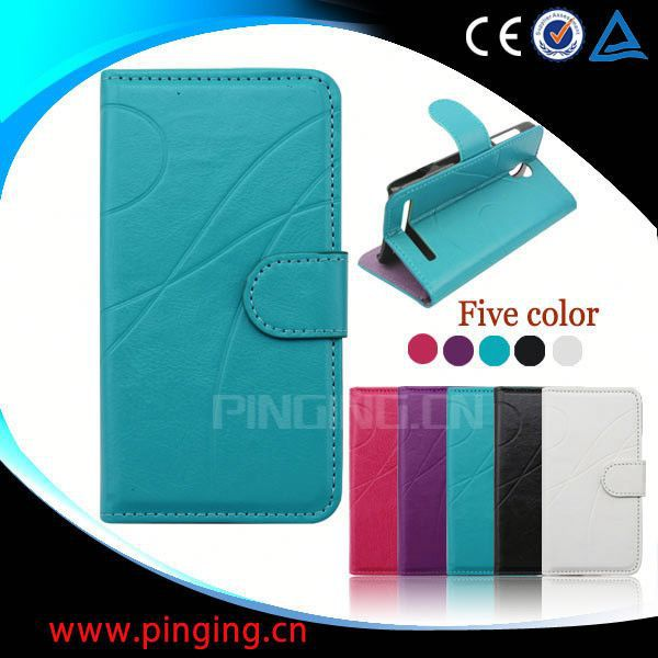factory price wallet leather case cover for samsung galaxy star pro s7262