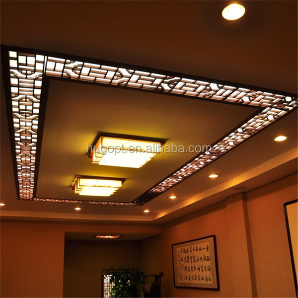 Different types of ceiling board moisture proof fire proof for Different kinds of ceiling design