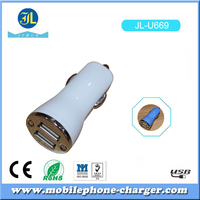 Consumer electronics in jiale oem charger factory dual usb car charger charging for mobile phone USB CAR CAHRGER