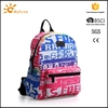 High quality customized logo sports & leisure executive solar powered backpack with padded interior laptop sleeve