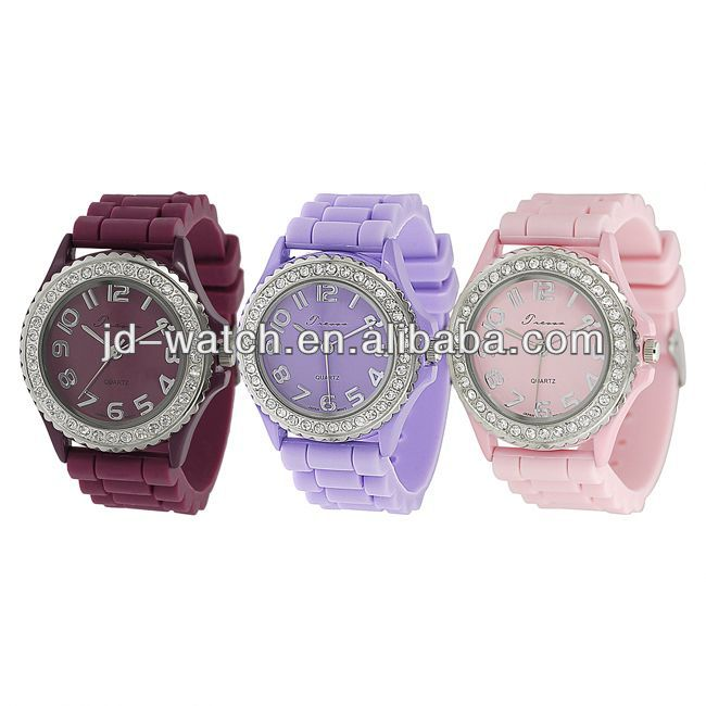 silicon watches as best promotional gift,ready stock available for 10 unit colours, Paypal and Escrow acceptable