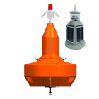solar led marine navigation buoy