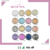 Eyeshadow Palette 10 colors Eye Beauty Tool Waterproof Powder Natural Pigmented Nude Naked