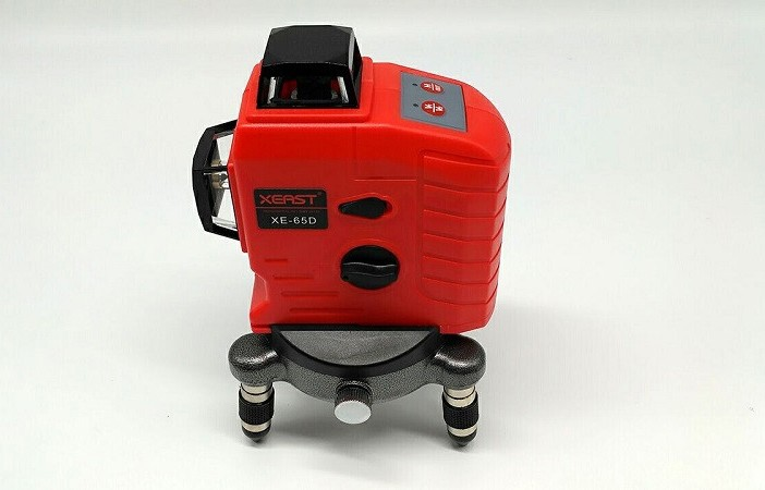 High Quality XEAST XE-65D 12Line 3D laser level 360 Vertical And Horizontal 3D Laser Level Self-leveling Red Beam