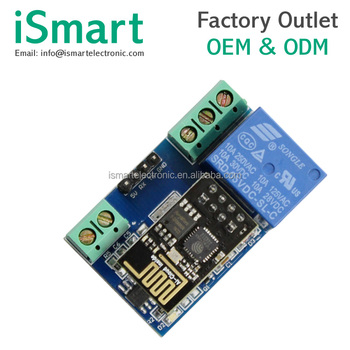 5v Wifi Relay Module Esp8266 Toi App Controled For Smart Home Automation  Board - Buy Esp8266 Relay,Wifi Relay Module,Esp8266 Esp-01 Product on