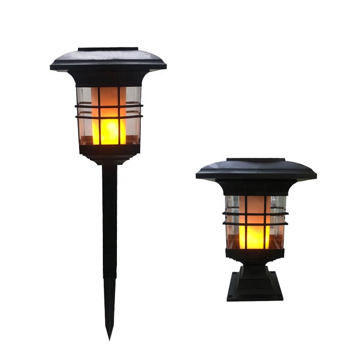 IP44 Waterdichte outdoor led solar tuinverlichting vlam tiki torch