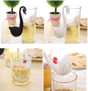 Novelty Swan Shape Silicone Tea Infuser tea strainers filter tool