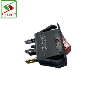 125/250v 3 way on-off/ on-off-on rocker switch fan parts