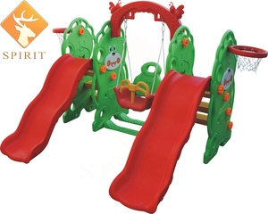 Wholesale LLDPE Backyard children playground slide for Canada