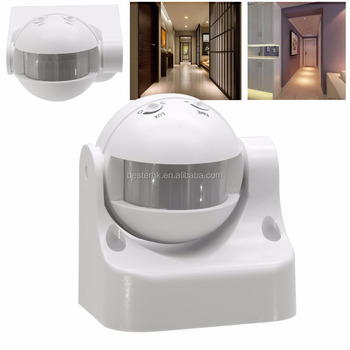 Ceiling Mounted 220v Outdoor Light Auto Infrared Motion Sensor Switch Inductive Proximity Day Night