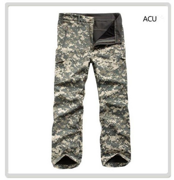 Lurker shark skin soft shell TAD money Trousers Army camouflage tactical outdoor windproof waterproof hiking pants trousers