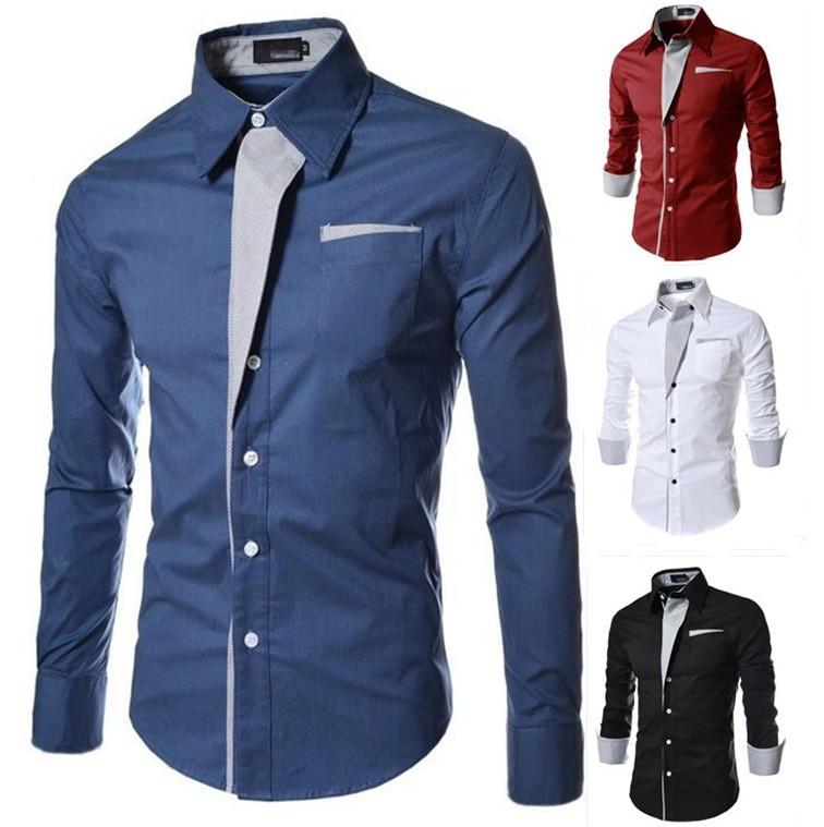 78f47344274c Summer dress 100% cotton shirts for men slim fit custom business new style  pant shirt design