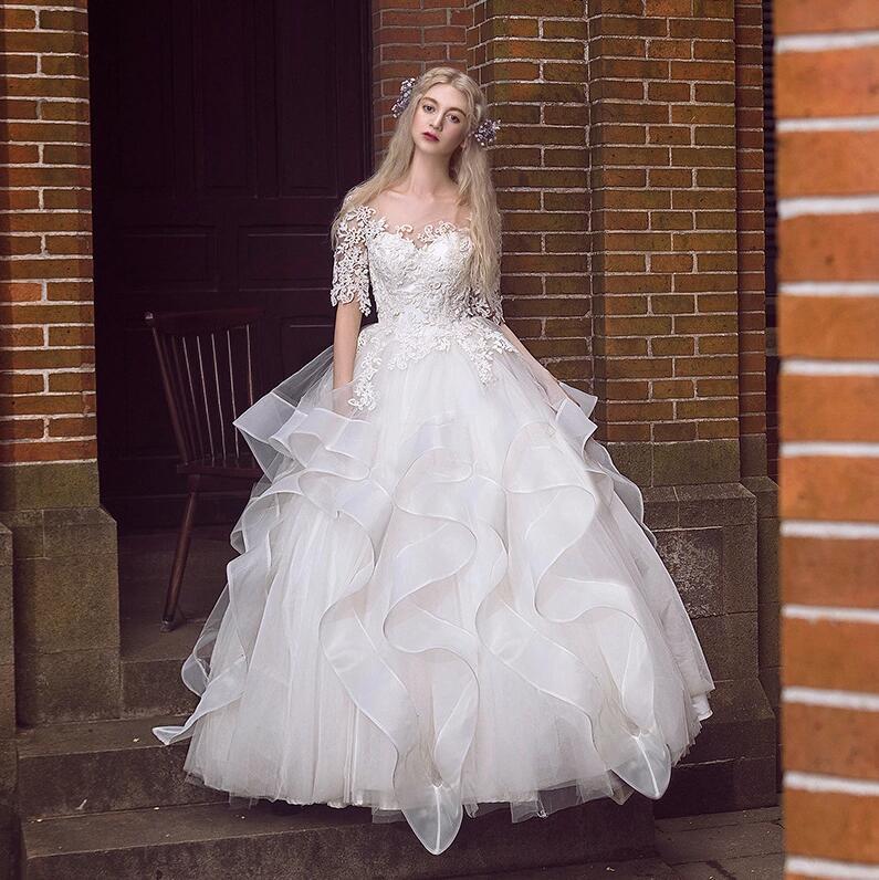 8108c9540 Catálogo de fabricantes de Vestido De Novia Estilo Coreano de alta calidad  y Vestido De Novia Estilo Coreano en Alibaba.com