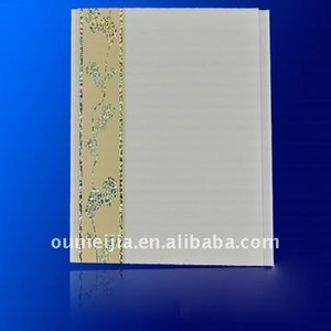 2012 new design pvc wall panel (with different colors)