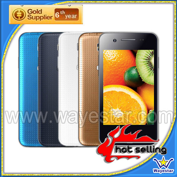 Latest Kitkat 4.4 android mobile without gps with 3.5'' touch screen