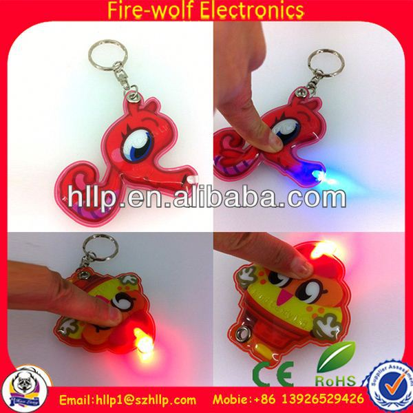 hot sell products for advertising food keychain