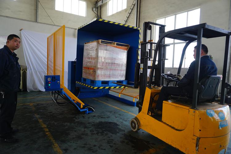 Stationary Load Inverter Pallet Inverter Bulle Pallet: Working Free Standing Pallet Inverter Stationary Pallet