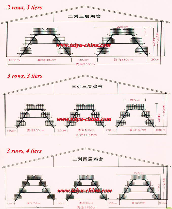 Poultry Farm Design Layout For Chicken House
