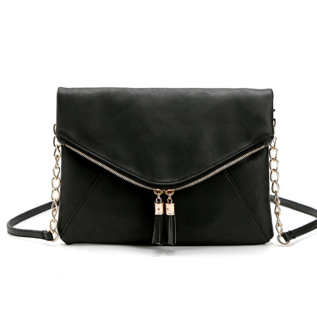 Creazy Women Shoulder Bag Handbag Tote Satchel Hobo Messenger Black
