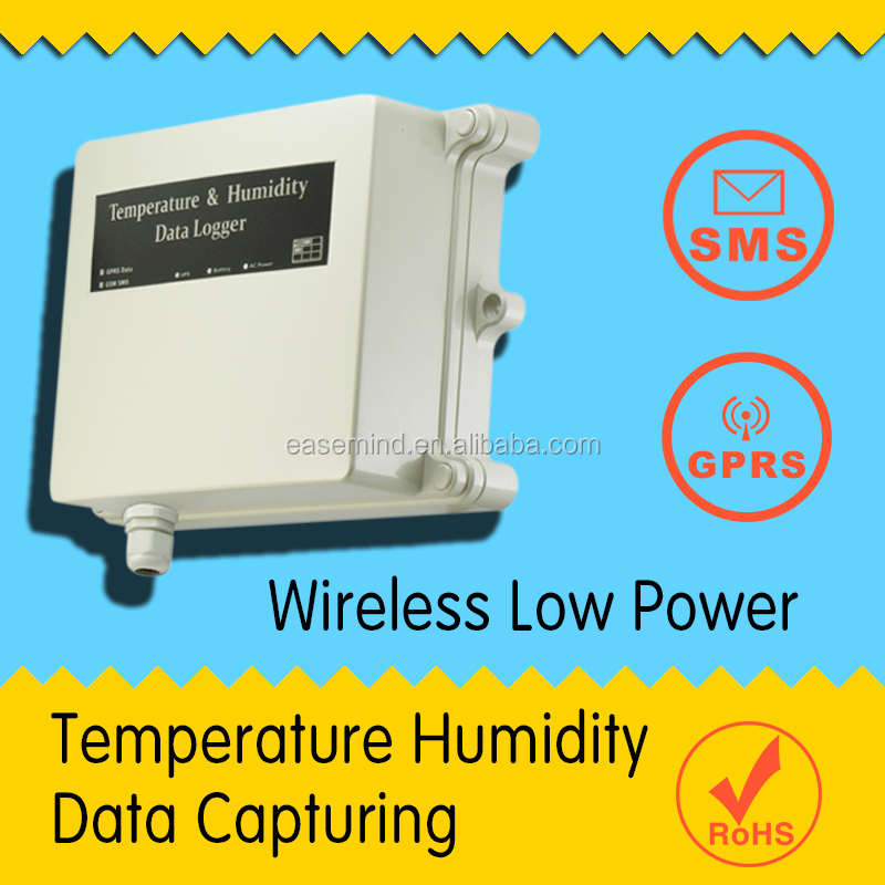Wireless Low Power Temperature Humidity Data Capturing gsm temperature monitoring temp sensor 433 rs485 Data Logger
