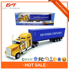 Hot sale kids 1 64 scale die cast metal container truck model