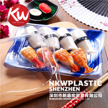 KW-0007LH-B Food Packaging Disposable Plastic Sushi Box