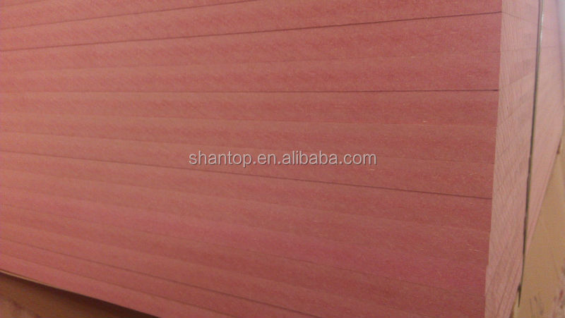 fire proof red mdf board in good quality