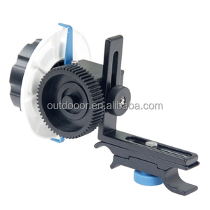 YLG0103F Follow Focus F0 with Adjustable Gear Ring Belt for Canon Cameras