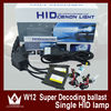 W12 HID Slim Canbus Ballast With 6000k HID Xenon Kit H11 Bixenon HID Xenon Working Light Lamp Headlight Assembly