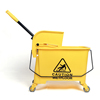 Hot selling plastic wringer mop bucket with wheels