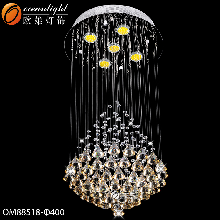 crystal chandelier ornaments,3 tiered crystal chandelier OM88518-400