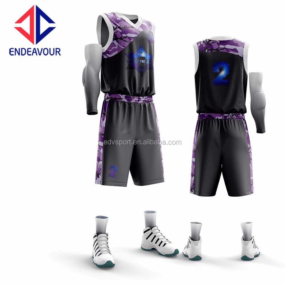 81392d64f Fully Sublimation Customized Violet Basketball Jersey Designs - Buy Violet Basketball  Jersey Designs