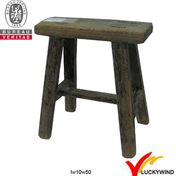 Old Aged Reclaimed Small Decorative Wooden Stool Wood Product On Alibaba