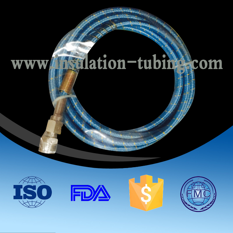 Nylon Braided Ptfe Hose, Pipe Flexible Steam Wholesale , Nylon Braide Ptfe Steam Hose Factory