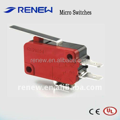 industrial and civil application hinge lever zippy omron microswitch